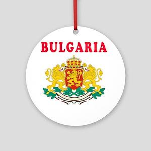 Bulgaria Coat Of Arms Designs Ornament (Round)