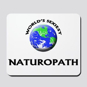 World's Sexiest Naturopath Mousepad