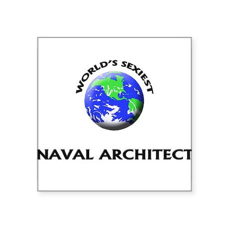 Worldu0027s Sexiest Naval Architect Sticker