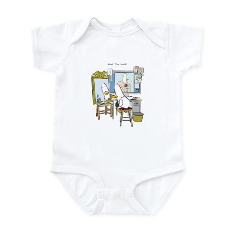 What the Duck: Self Portrait Infant Bodysuit