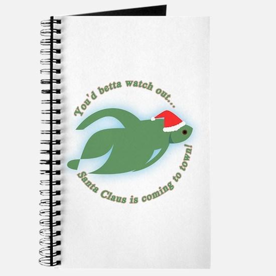 Betta Fish Christmas Journal