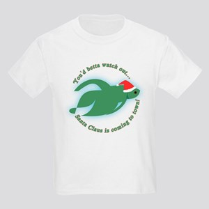 Betta Fish Christmas Kids T-Shirt