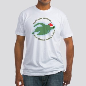 Betta Fish Christmas Fitted T-Shirt