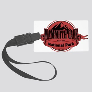 mammoth cave 4 Large Luggage Tag