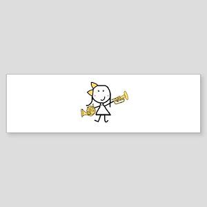 Mello & French Horn Sticker (Bumper)