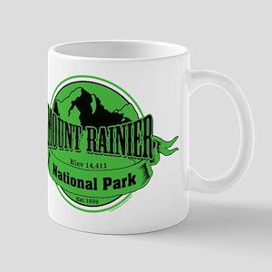 mount rainier 3 Small Mug