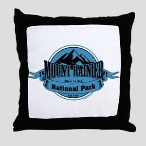 mount rainier 4 Throw Pillow