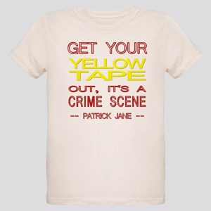 Mentalist Yellow Tape Organic Kids T-Shirt