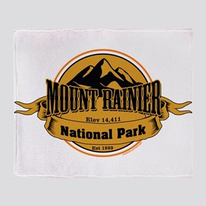 mount rainier 4 Throw Blanket