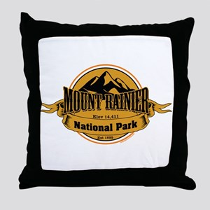 mount rainier 4 Throw Pillow