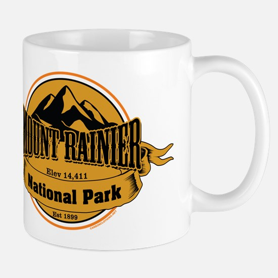 mount rainier 4 Small Mug