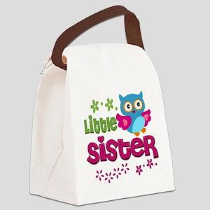 Little Sister Canvas Lunch Bag