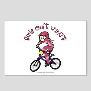 Light Pink BMX Postcards (Package of 8)