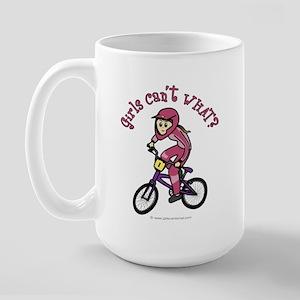 Light Pink BMX Large Mug