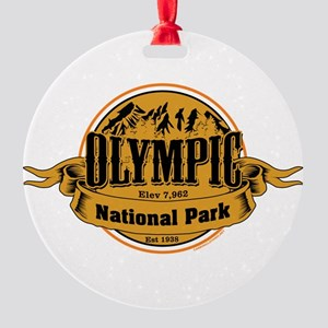 olympic 2 Round Ornament