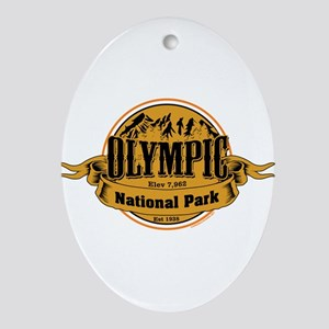 olympic 2 Ornament (Oval)