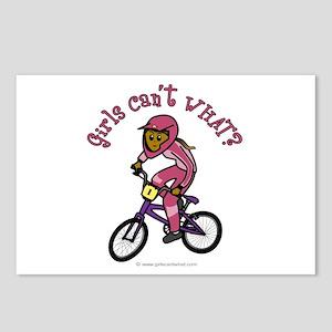 Dark Pink BMX Postcards (Package of 8)