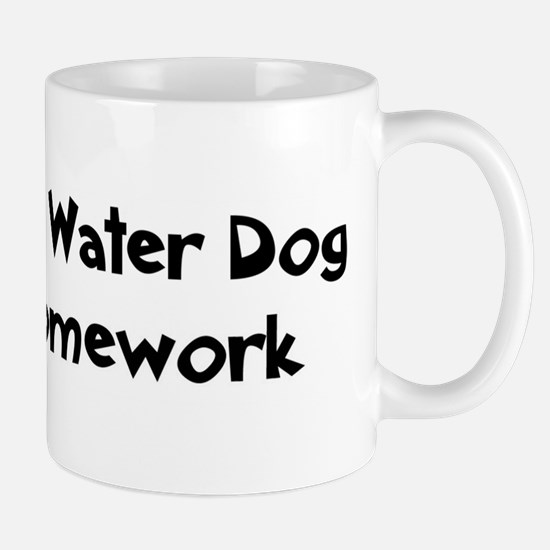 Spanish Water Dog ate my home Mug