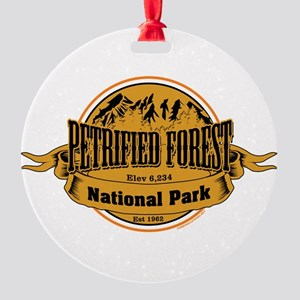petrified forest 2 Round Ornament