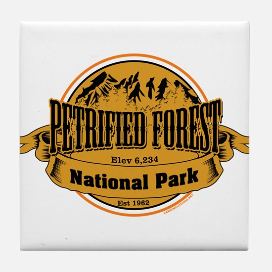 petrified forest 2 Tile Coaster