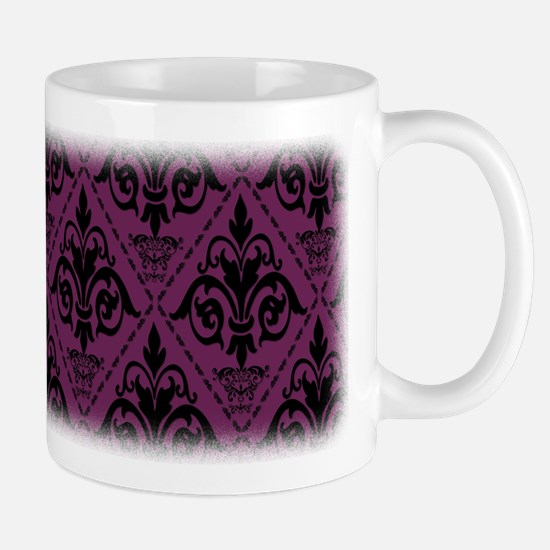 Black & Alyssum Damask #29 Mug