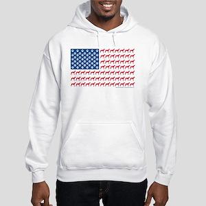 Patriotic Greyhounds Hoodie