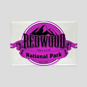 redwood 4 Rectangle Magnet