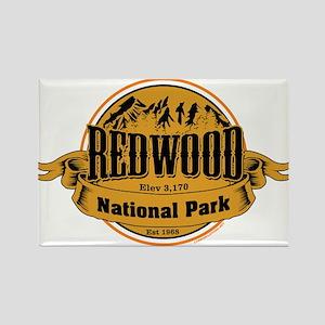 redwood 2 Rectangle Magnet