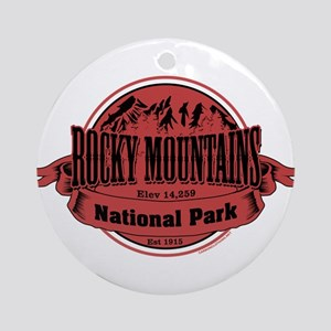 rocky mountains 2 Ornament (Round)