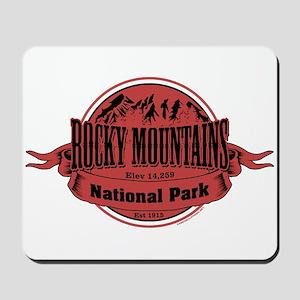 rocky mountains 2 Mousepad