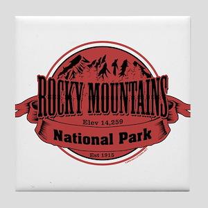 rocky mountains 2 Tile Coaster