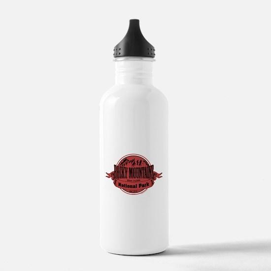 rocky mountains 2 Sports Water Bottle