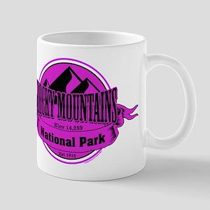 rocky mountains 5 Small Mug