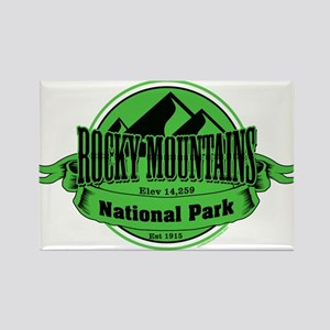 rocky mountains 5 Rectangle Magnet