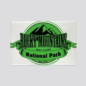 rocky mountains 4 Rectangle Magnet