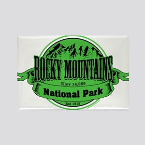 rocky mountains 2 Rectangle Magnet