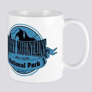 rocky mountains 3 Small Mug