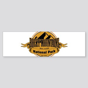 rocky mountains 5 Bumper Sticker