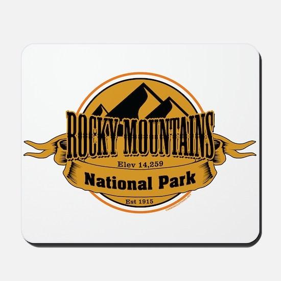 rocky mountains 5 Mousepad