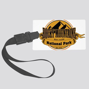 rocky mountains 5 Large Luggage Tag