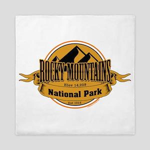 rocky mountains 5 Queen Duvet