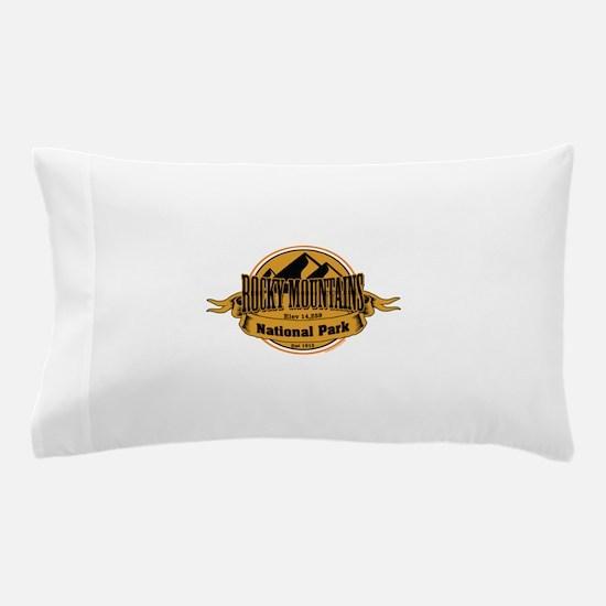 rocky mountains 5 Pillow Case