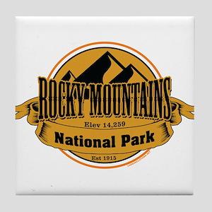 rocky mountains 5 Tile Coaster