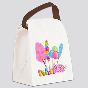 Candy Circus Canvas Lunch Bag