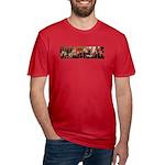 Unalienable 1776 Men's Fitted T-Shirt (dark)