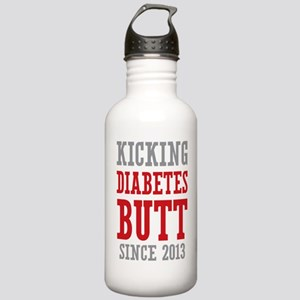Diabetes Butt Since 2013 Stainless Water Bottle 1.