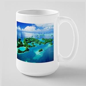 ROCK ISLANDS PALAU Large Mug