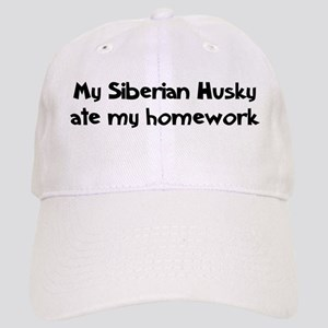 Siberian Husky ate my homewor Cap
