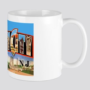Jersey City New Jersey Greetings Mug