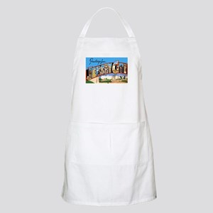 Jersey City New Jersey Greetings BBQ Apron